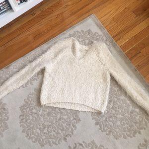 Anthropologie Fuzzy Sweater